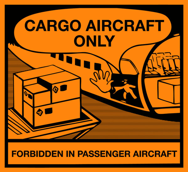 CARGO AIRCRAFT ONLY (1.000 ex./rol)