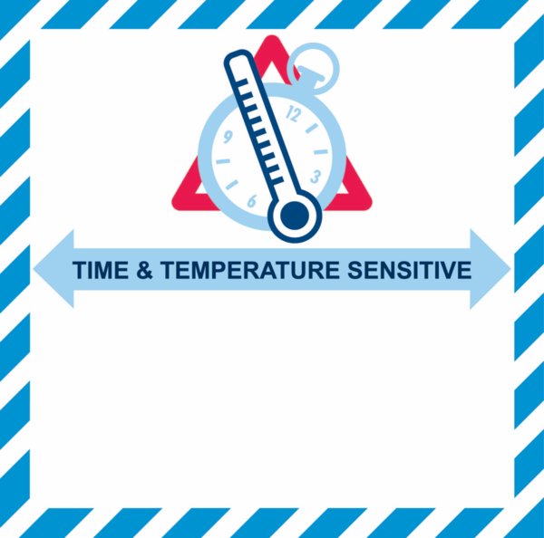 TIME & TEMPERATURE SENSITIVE (1.000 ex./rol)
